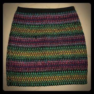 WOW couture zigzag mini skirt